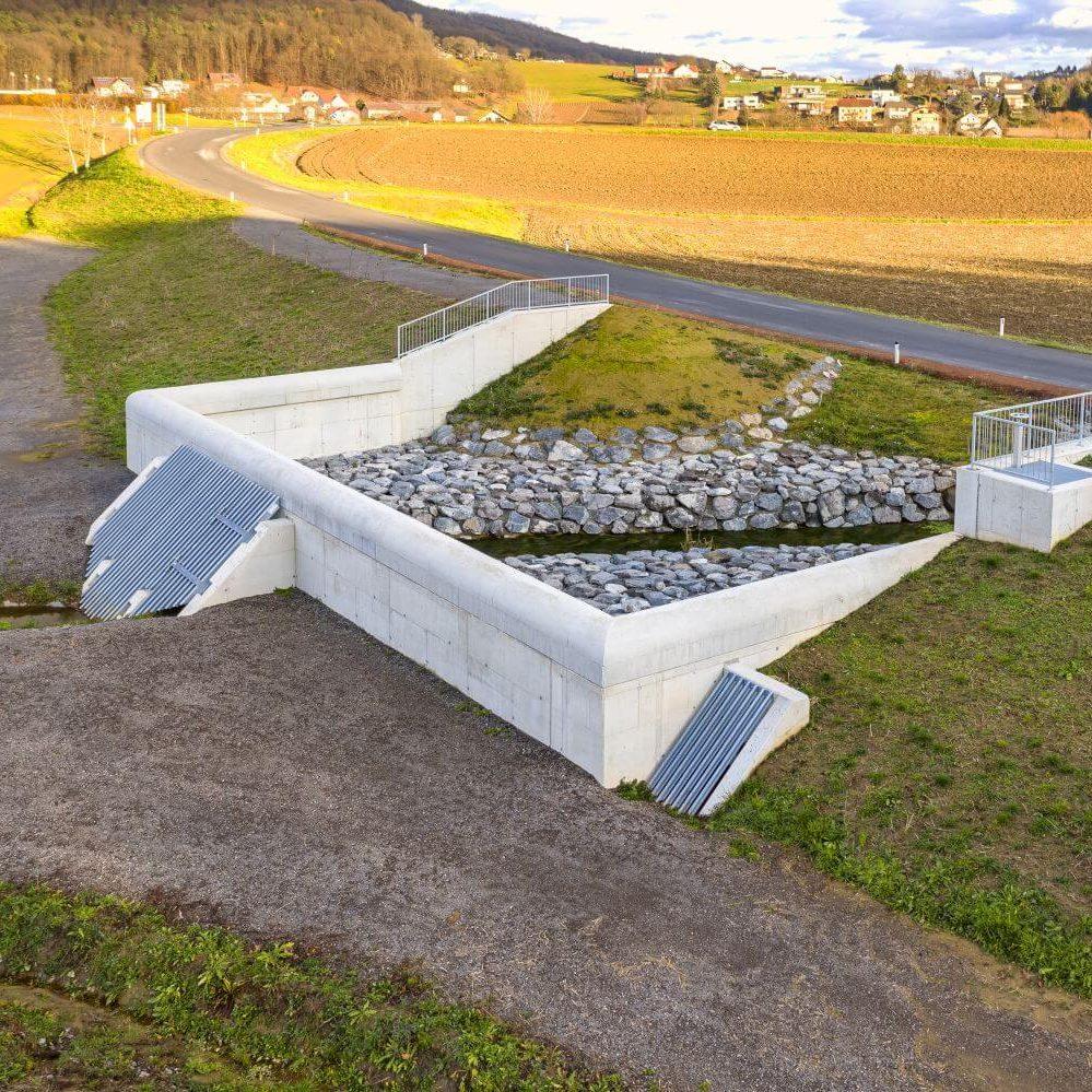 Rückhaltebecken Bad Gleichenberg