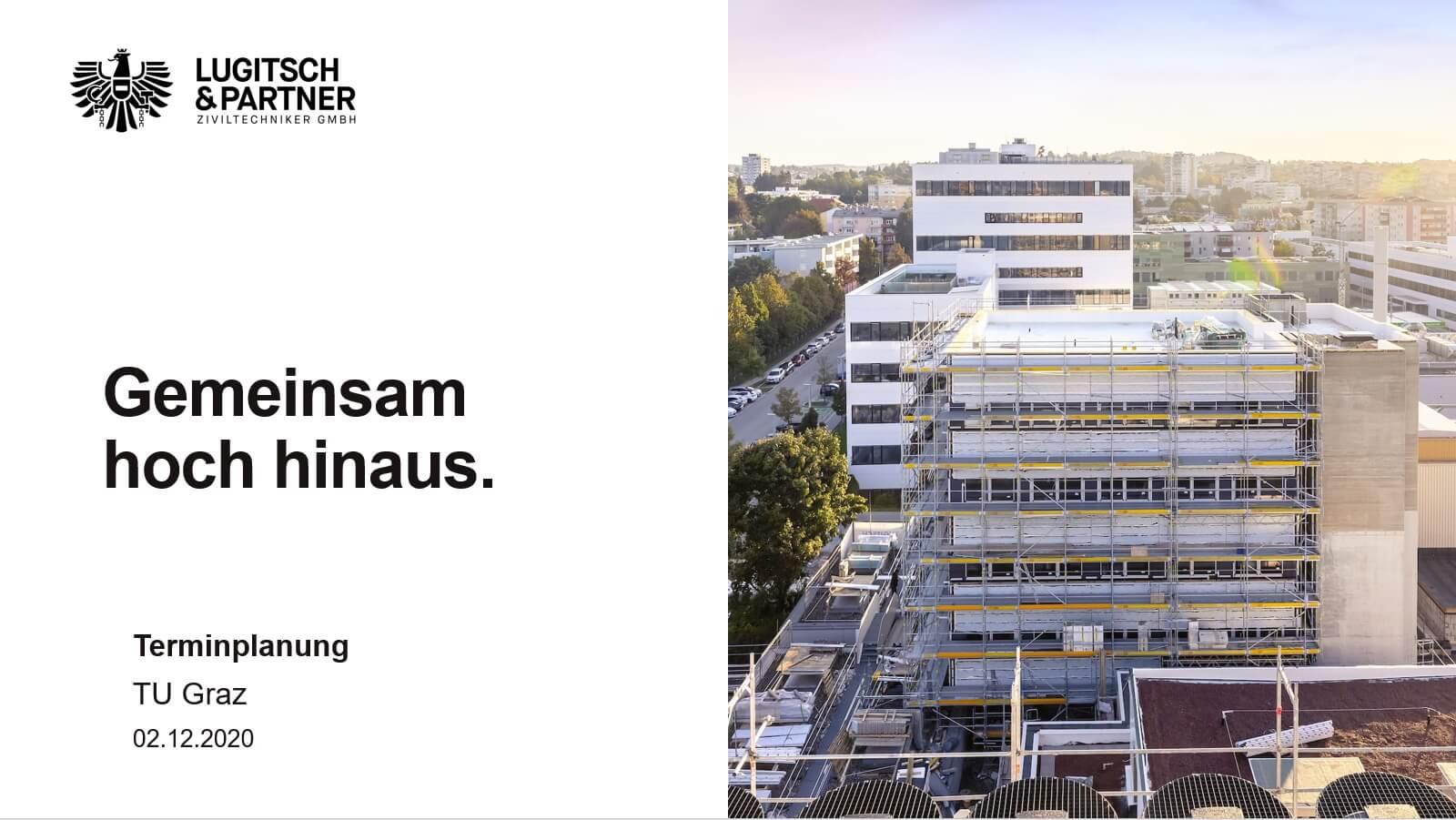 Vortrag TU Graz: Terminplanung